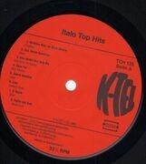 LP - Alice, Stefano Sani, Drupi - Italo Top Hits - RARE