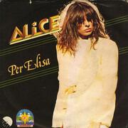 7inch Vinyl Single - Alice - Per Elisa