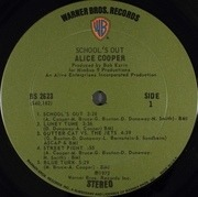 LP - Alice Cooper - School's Out - gimmick sleeve