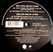 12'' - Alicia Keys - How Come You Don't Call Me