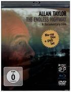Blu Ray-Box - Allan Taylor - The Endless Highway - Blu-Ray + DVD / English / French