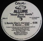 12inch Vinyl Single - Allure - Head Over Heels (Remix)