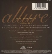 CD Single - Allure - Head Over Heels - Digisleeve
