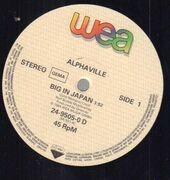 12inch Vinyl Single - Alphaville - Big In Japan