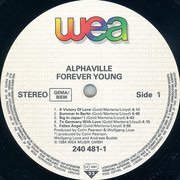 LP - Alphaville - Forever Young