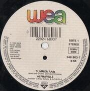 7inch Vinyl Single - Alphaville - Summer Rain