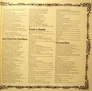 LP - Al Stewart - Past, Present & Future - Gatefold sleeve