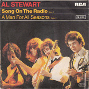 7'' - Al Stewart - Song On The Radio