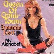 7'' - Amanda Lear - Queen Of China-Town