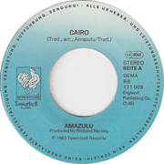 7inch Vinyl Single - Amazulu - Cairo