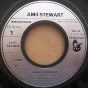 7inch Vinyl Single - Amii Stewart - Knock On Wood - Second pressing