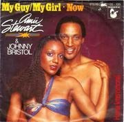 7inch Vinyl Single - Amii Stewart & Johnny Bristol - My Guy/My Girl