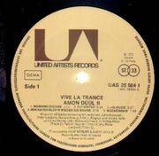 LP - Amon Düül II - Vive La Trance - orig 1st german press