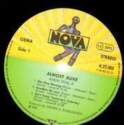 LP - Amon Düül II - Almost Alive... - rare kraut prog psych cosmic