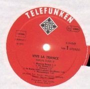 LP - Amon Düül II - Vive La Trance - Red Telefunken