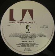 Double LP - Amon Düül II - Yeti - Beige labels