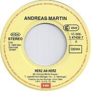 7inch Vinyl Single - Andreas Martin - Herz An Herz