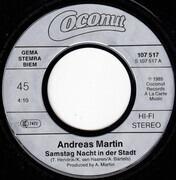 7inch Vinyl Single - Andreas Martin - Samstag Nacht In Der Stadt