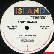 12'' - Andy Fraser - Do You Love Me