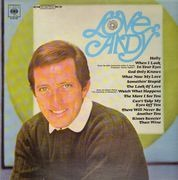 LP - Andy Williams - Love, Andy