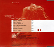 CD Single - Angelic - Can't Keep Me Silent - PROMO