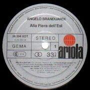 LP - Angelo Branduardi - Alla Fiera Dell'est - Gatefold