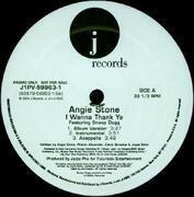 12'' - Angie Stone - I Wanna Thank Ya / My Man