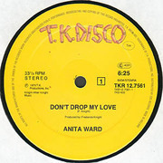 12'' - Anita Ward - Don't Drop My Love / Spoiled By Your Love
