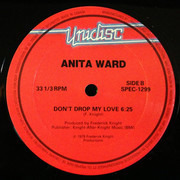 12inch Vinyl Single - Anita Ward - Ring My Bell / Don't Drop My Love - Red labels