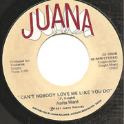 7'' - Anita Ward - Can't Nobody Love Me Like You Do