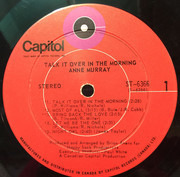 LP - Anne Murray - Talk It Over In The Morning