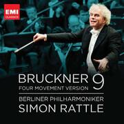CD - Anton Bruckner - Sir Simon Rattle , Berliner Philharmoniker - Symphony No. 9 (Four Movement Version)