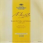 LP - Dvo?ák , Johanna Martzy , F Fricsay - Konzert Für Violine Und Orchester A-Moll Op. 53 - tulip rim, mono, gatefold