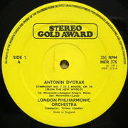 LP - Antonín Dvořák , Vernon Handley Conducting The London Philharmonic Orchestra - New World Symphony