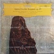 Double LP - Dvo?ák - M. Stader ? S. Wagner ? E. Haefliger ? K. Borg - Requiem Op. 89 - tulip rim, heavy cardboard box