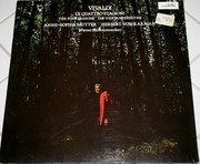 LP - Vivaldi / Anne-Sophie Mutter, Wiener Philh., Karajan - Le Quattro Stagioni / The Four Seasons / Die Vier Jahreszeiten - Gatefold