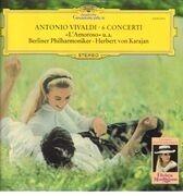 LP - Antonio Vivaldi - Herbert Von Karajan And Berliner Philharmoniker - 6 Concerti