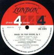 LP - Antonio Vivaldi - Leopold Stokowski Conducting New Philharmonia Orchestra - The Four Seasons