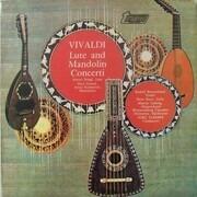 LP - Antonio Vivaldi , Jörg Faerber - Lute And Mandolin Concerti