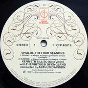 LP - Antonio Vivaldi , Kenneth Sillito , The Virtuosi Of England · Arthur Davison - The Four Seasons