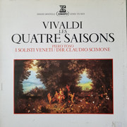 LP - Vivaldi - Claudio Scimone - Les Quatre Saisons - Gatefold