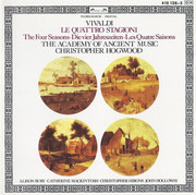 CD - Vivaldi , The Academy Of Ancient Music , Christopher Hogwood - Le Quattro Stagioni