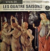 LP - Antonio Vivaldi / Francesco Renato / I Musici Virtuosi Di Milano - Les Quatre Saisons