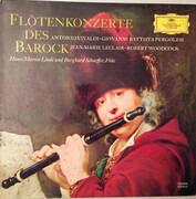 LP - Antonio Vivaldi / Giovanni Battista Pergolesi / Jean-Marie Leclair / Robert Woodcock — Hans-Martin - Flötenkonzerte Des Barock