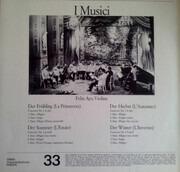 LP - Antonio Vivaldi / Felix Ayo - Die Vier Jahreszeiten - Gatefold