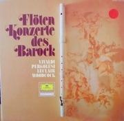 LP - Vivaldi - Pergolesi - Leclair - Woodcock - Flötenkonzerte Des Barock