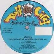 12inch Vinyl Single - Anttex - Understand Me Vanessa (Vanessa Yo) - Still sealed