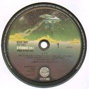 Double LP - Aphrodite's Child - 666 - spaceship labels