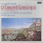 LP-Box - Arcangelo Corelli , The Academy Of St. Martin-in-the-Fields , Sir Neville Marriner - 12 Concerti Grossi Op. 6 (Mit Dem »Weihnachtskonzert«) - Hardcover Box
