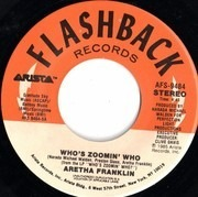 7inch Vinyl Single - Aretha Franklin - Who's Zoomin' Who